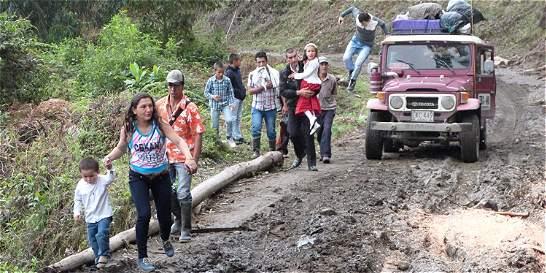 Estragos en Tolima y Huila por las lluvias