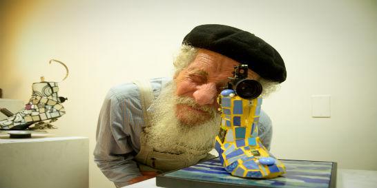 Murió Martín Abad, el artista que dejó la ciudad para vivir en soledad