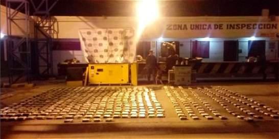 Incautan más de media tonelada de coca en aeropuerto de San Andrés