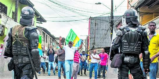 Las cuentas pendientes tras paro cívico en Chocó