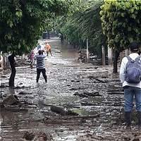 Avalancha mantiene cerrada la vía Neiva-Rivera-Campoalegre