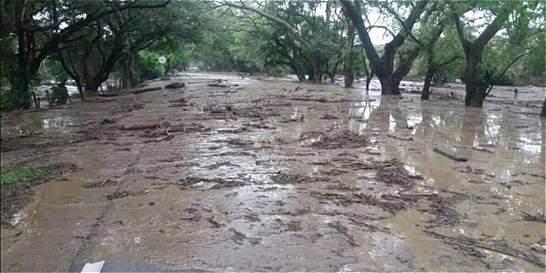 800 familias del Huila afectadas por avalanchas de ríos y quebradas