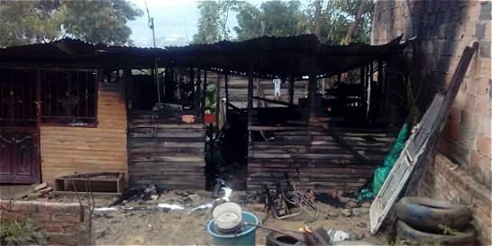 Dos menores de edad murieron en medio de un incendio en Cúcuta