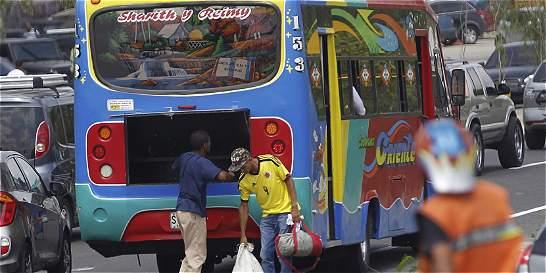 Accidentes de buses intermunicipales subieron más de 10 % en 2016