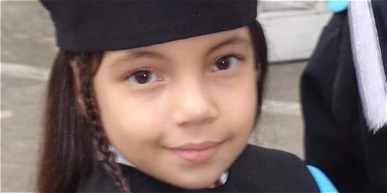 Ella es Gabriela Rico, la niña que pidió a Santos ayuda con su tarea