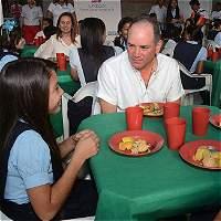 Sin tropiezos, programa de alimentación escolar en el Cesar