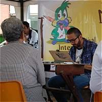 Caricaturistas rindieron tributo a las mujeres en Quindío