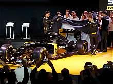 El monoplaza de Renault para la temporada 2016 de Fórmula 1