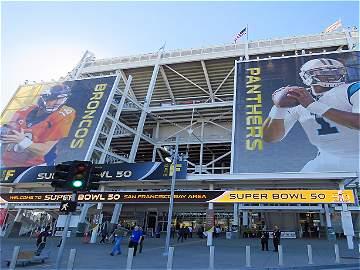 Así se prepara el Levi's Stadium para el Super Bowl 50