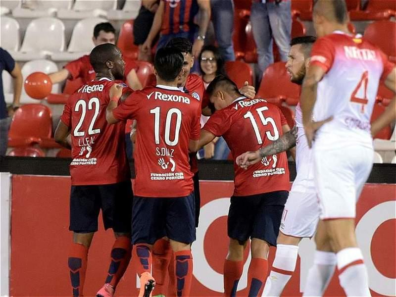 En imágenes, la eliminación de Santa Fe de la Copa Libertadores