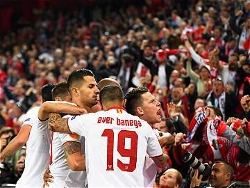 Las mejores imágenes de la final de la Liga de Europa