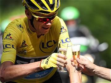 Las mejores imágenes de la última etapa del Tour de Francia