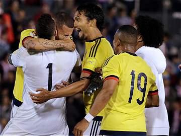 Así fue la celebración del gol de Edwin Cardona