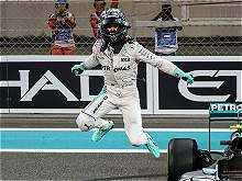 En imágenes: la celebración del título de F1 de Nico Rosberg