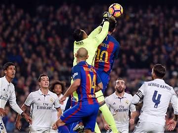 Las mejores imágenes del clásico entre el Barcelona y el Real Madrid