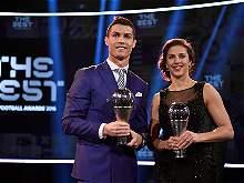 Las mejores imágenes de la ceremonia del premio 'The Best' de la Fifa