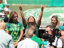 Imágenes del primer partido de Chapecoense después del trágico accidente