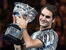 Las imágenes más destacadas del título de Roger Federer en Australia