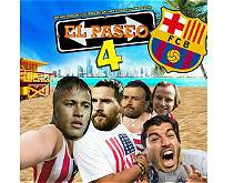 Los mejores memes que dejó la goleada del PSG al Barcelona