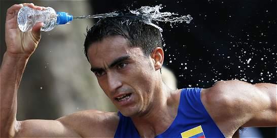 James Rendón rompió marca de 17 años de vigencia en 50 km de marcha