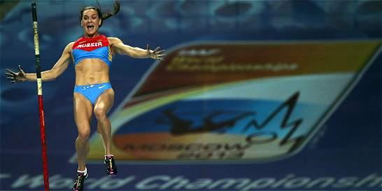 Isinbáyeva regresa a entrenamientos para buscar su tercer oro olímpico