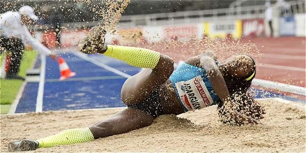 Catherine Ibargüen, atleta colombiana.