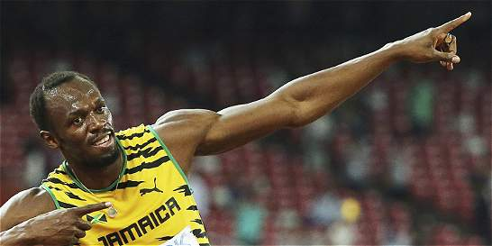 Bolt sigue escribiendo su nombre en letras doradas en el atletismo