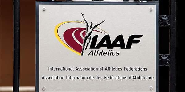 Imagen del logo de la Iaaf.