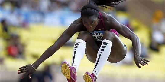Primer paso de Catherine Ibargüen para los Juegos Olímpicos