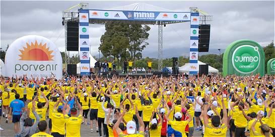 Las estrellas de la Media Maratón de Bogotá llegan este miércoles