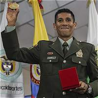 Marchista Luis F. López ya luce el oro de Campeón Mundial