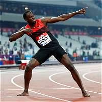 A nueve días de los Olímpicos, Usain Bolt llegó a Río de Janeiro