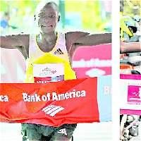 A Kimetto y Gobena solo les sirve ganar la Media Maratón