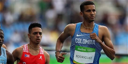 Mal comienzo del atletismo colombiano en Río