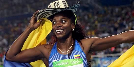 ¡Caterine Ibargüen voló! Logró la medalla de oro en salto triple