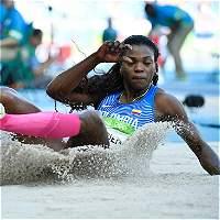 Catherine Ibargüen estrenó su oro olímpico con triunfo en Suiza