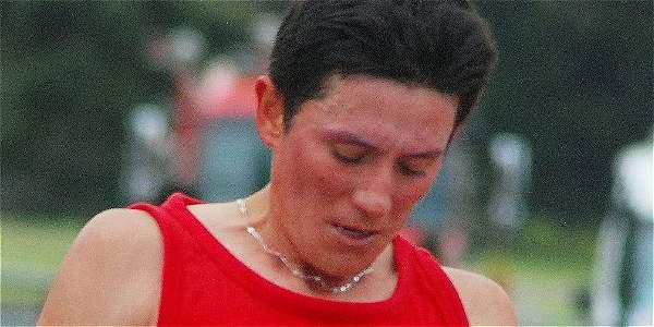 Giovanny Amador, atleta colombiano.