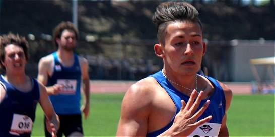 Andrés Hernández, figura de Colombia en reunión atlética en Chile