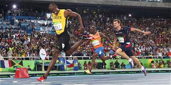 Usain Bolt siguió volando: completó el 'triple-triple'