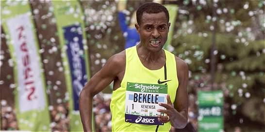 Bekele dispuesto a bajar el récord mundial de maratón