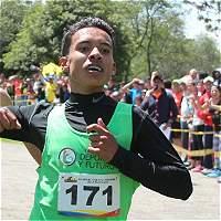 Santiago Hernández, segundo en el Suramericano de Cross Country