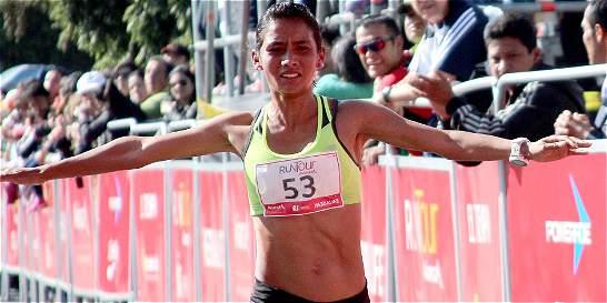Angie Orjuela, segunda en la Media Maratón de Guadalajara
