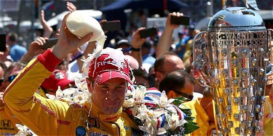 Ryan Hunter-Reay ganó las 500 Millas de Indianápolis