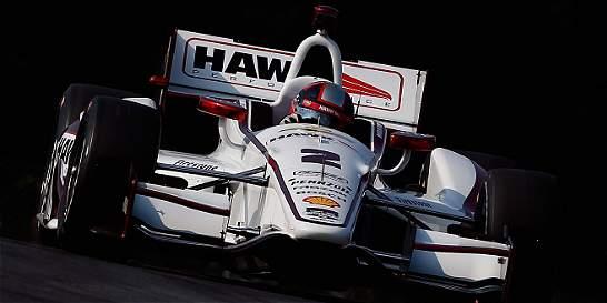 Los pilotos colombianos inician la recta final de la IndyCar