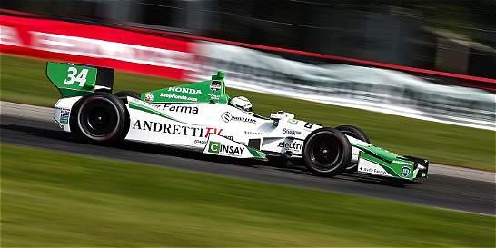 Colombianos pierden chances en IndyCar