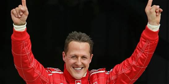 Schumacher no habla y está en silla de ruedas