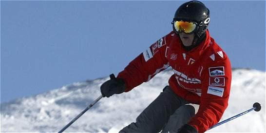 Michael Schumacher, el héroe caído de la nieve
