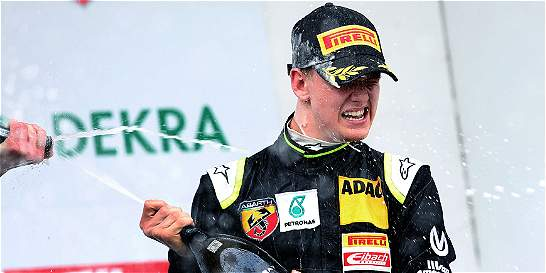 Hijo de Schumacher, mejor debutante en su primera carrera de Fórmula 4
