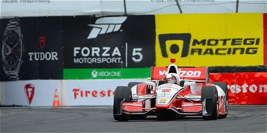 Juan Pablo Montoya partirá en el puesto 15 del GP de Alabama