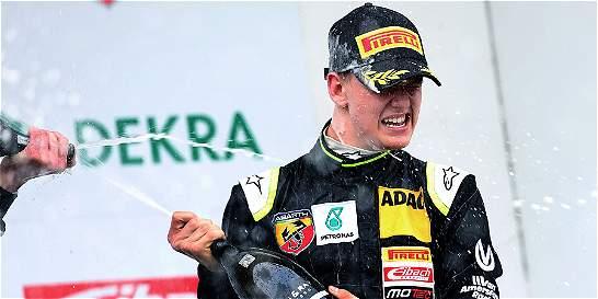 Mick Schumacher logró su primera victoria en la Fórmula 4